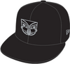 2017 Warriors New Era 950 Team Black Cap - Kids