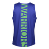 2019 Warriors Classic Performance Singlet Blue - Mens