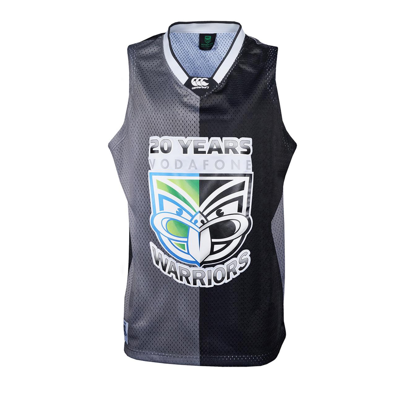 on sale 58b20 9d661 2015 Vodafone Warriors Basketball Singlet - Adults
