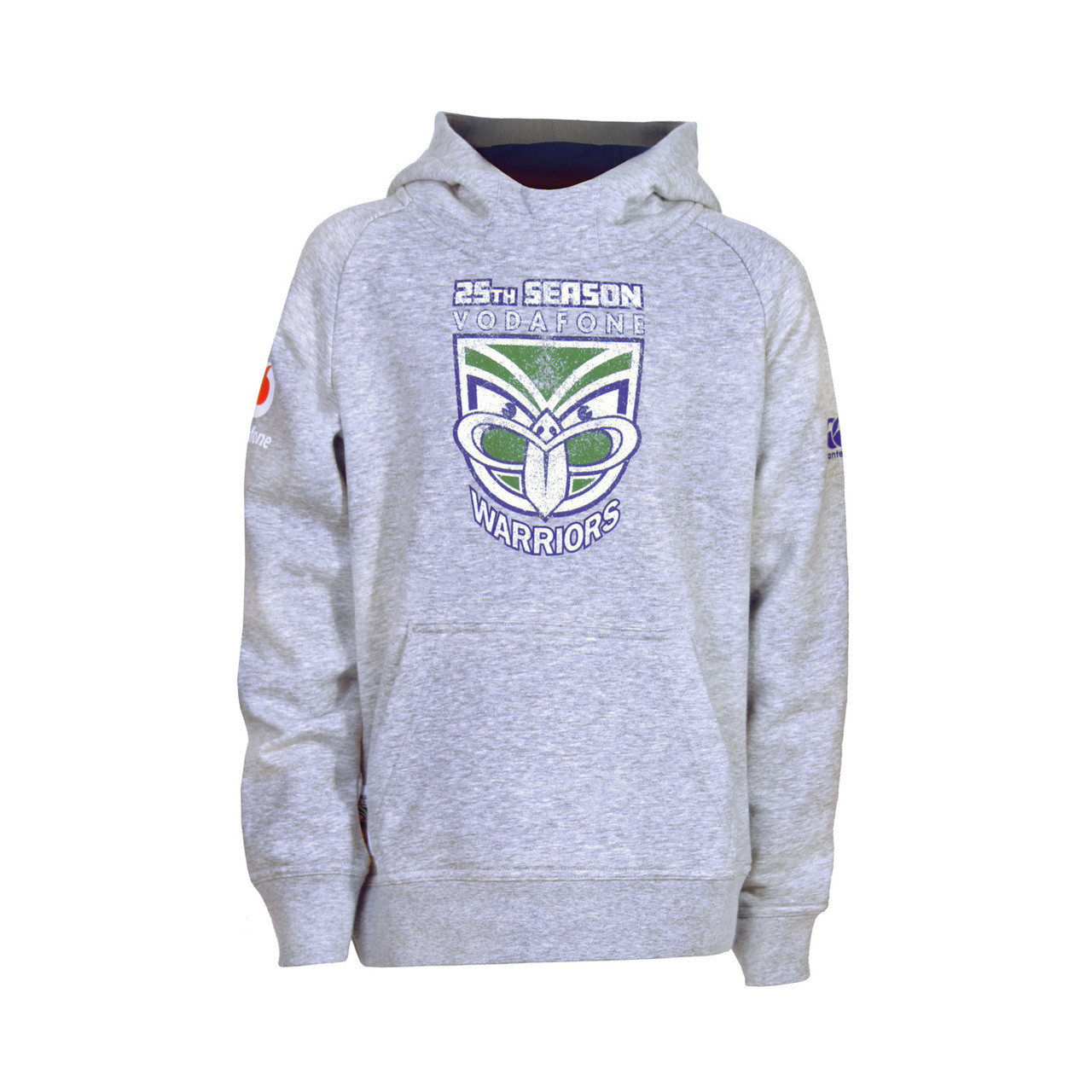 db08edf8 2019 Vodafone Warriors CCC 25th Season Raglan Hoodie - Kids ...