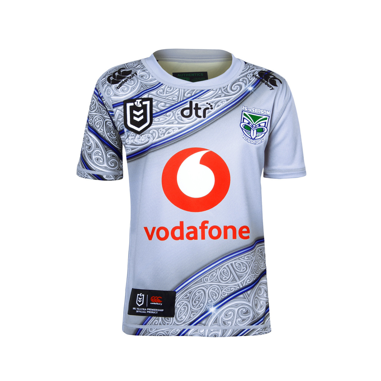 best service a55ab 432cb 2019 Vodafone Warriors CCC Indigenous Jersey - Kids