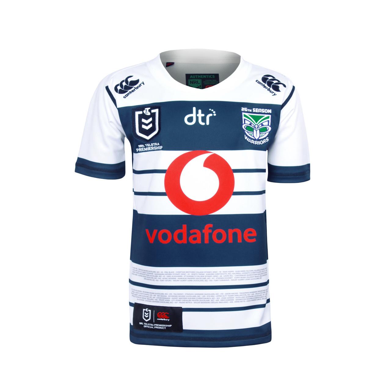 premium selection cdfe9 74450 2019 Vodafone Warriors CCC Heritage Jersey - Kids