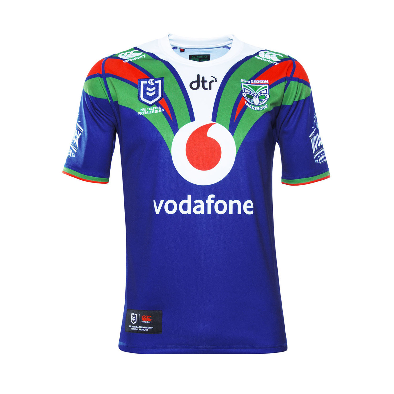 sports shoes 4f5f6 46bfb 2019 Vodafone Warriors CCC Home Jersey - Adults