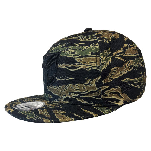 2019 Warriors New Era 950 Culture Collection Cap - Tiger Camo