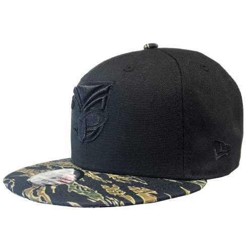 2019 Warriors New Era 950 Culture Collection Cap - Black Tiger Camo