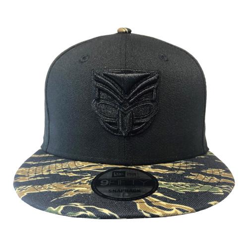2019 Warriors New Era 950 Culture Collection Cap - Black Tiger Camo