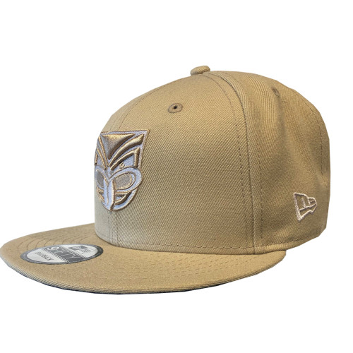2019 Warriors New Era 950 Culture Collection Cap - Camel