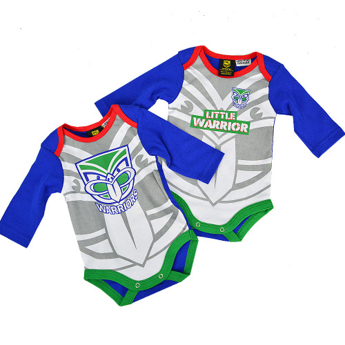 2020 Warriors Infant Bodysuit 2 Piece Gift Pack