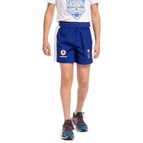 2020 Vodafone Warriors CCC Panel Tactic Shorts - Kids