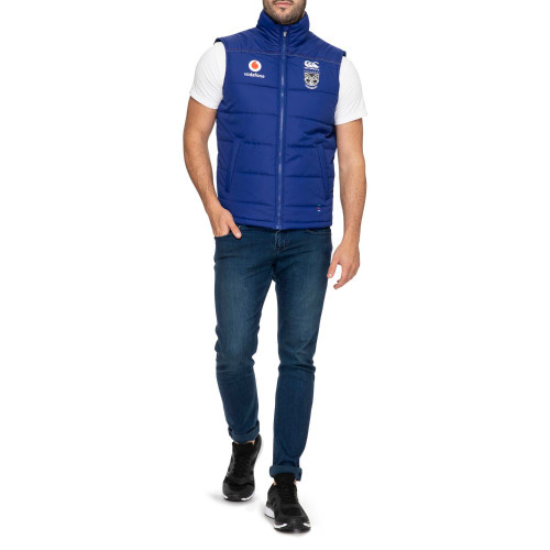 2020 Vodafone Warriors CCC Zip Thru Gilet