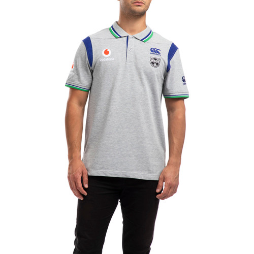 2020 Vodafone Warriors CCC Media Polo