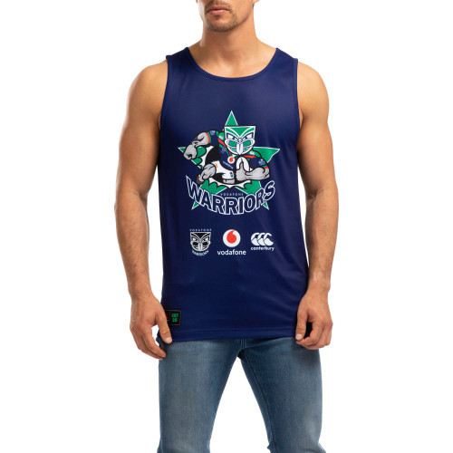 2020 Vodafone Warriors CCC Game Day Singlet