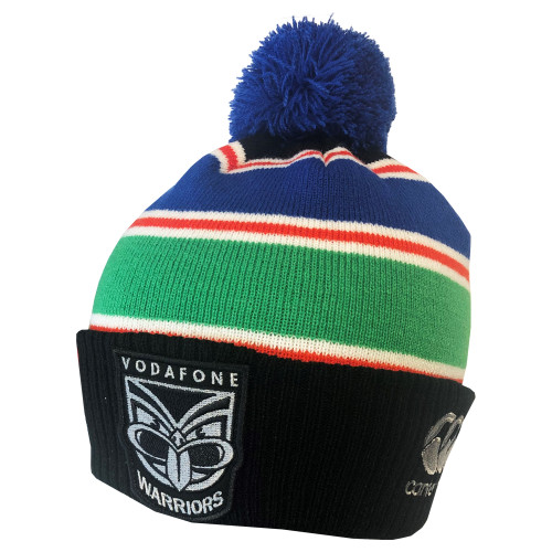 2020 Vodafone Warriors CCC Pompom Beanie