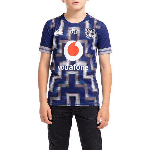 2020 Vodafone Warriors CCC Training Drill Top - Kids