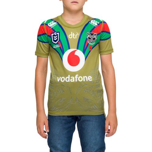 2020 Vodafone Warriors CCC Anzac Jersey - Kids