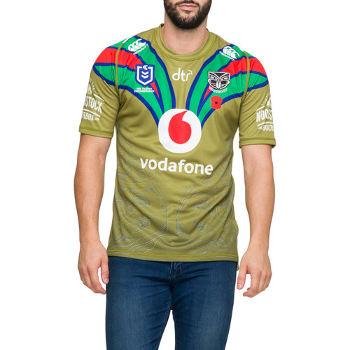 2020 Vodafone Warriors CCC Anzac Jersey - Adults