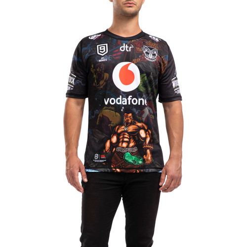 2020 Vodafone Warriors CCC Nines Jersey - Adults