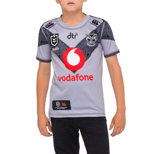 2020 Vodafone Warriors CCC Te Mangopare Alternate Jersey - Kids