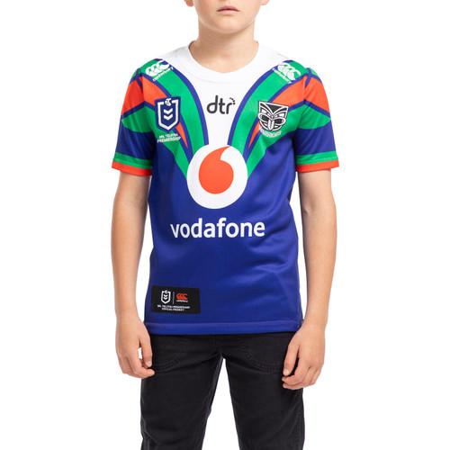 2020 Vodafone Warriors CCC Home Jersey - Kids