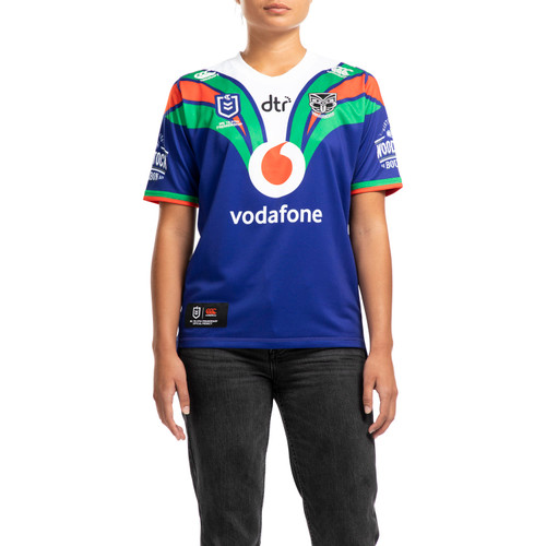 2020 Vodafone Warriors CCC Home Jersey - Womens