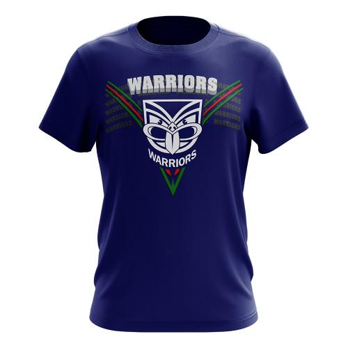 2020 Warriors Authentica Chevron Performance Tee
