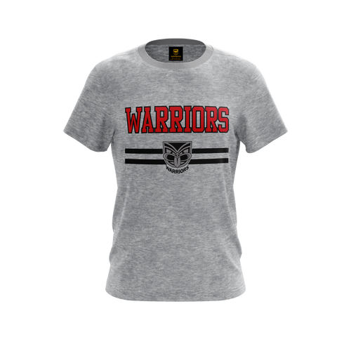 2020 Warriors Authentica Heathered Lifestyle Tee - Youth