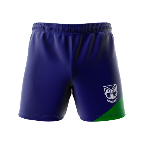 2020 Warriors Authentica Panel Performance Shorts - Youth