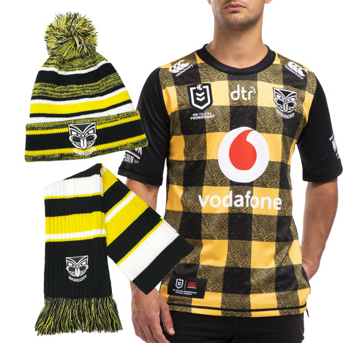 2020 CCC Vodafone Warriors Wellington Jersey Supporter Pack - Adults