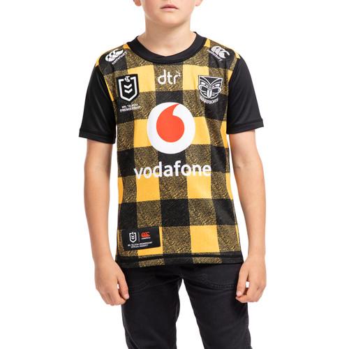 2020 CCC Vodafone Warriors Wellington Jersey Supporter Pack - Kids