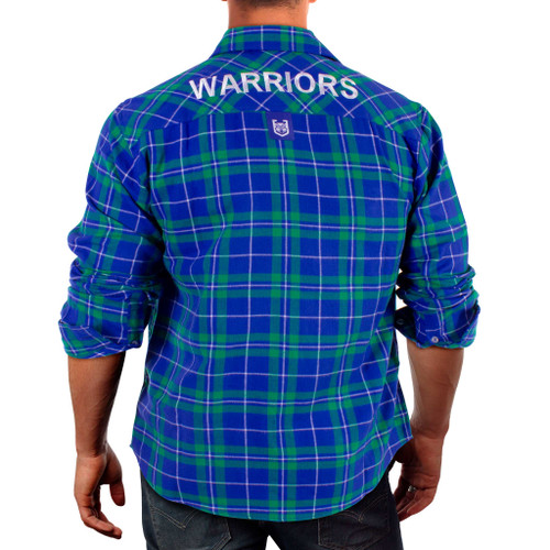 2021 Warriors NRL Flannel Shirt