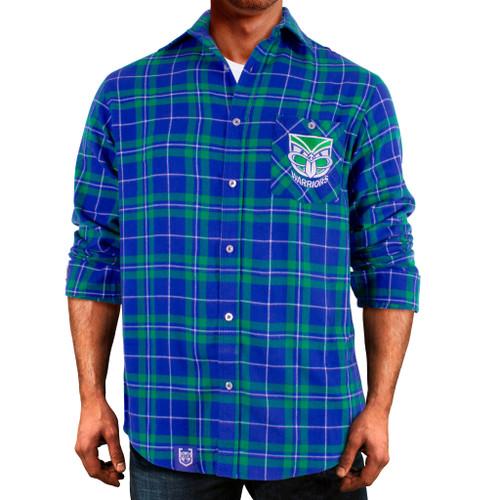 2021 Warriors NRL Flannel Shirt
