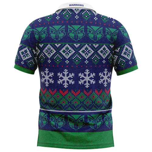 2020 Warriors NRL Christmas Polo