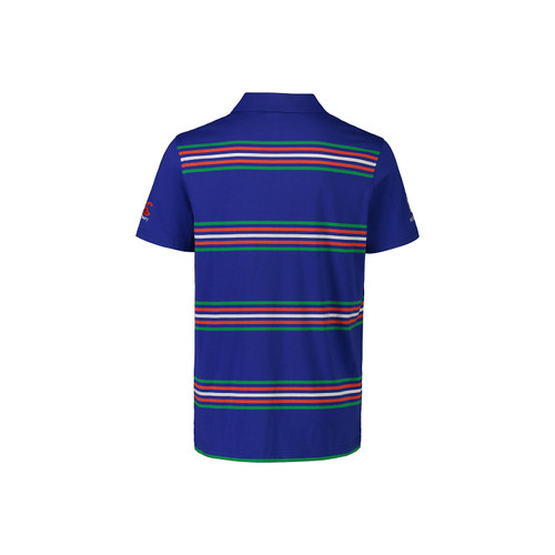 2021 Vodafone Warriors CCC Media Yarn Dye Polo