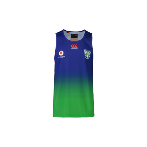 2021 Vodafone Warriors CCC Training Singlet