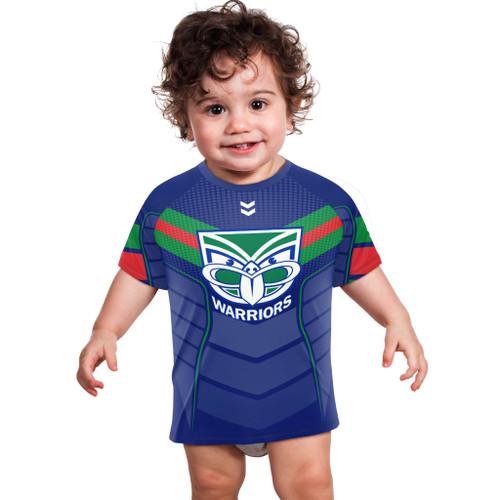 2021 Warriors NRL Chevron Tee - Infants