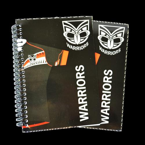 Set of 2 Warriors Notebooks