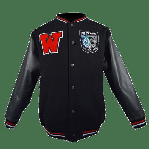Vodafone Warriors Black Stadium Jacket