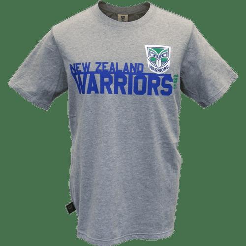 Warriors Heritage Tee - Grey Marle