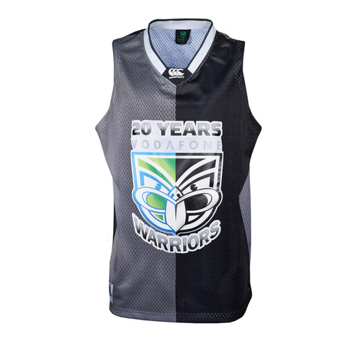 2015 Vodafone Warriors Basketball Singlet - Adults
