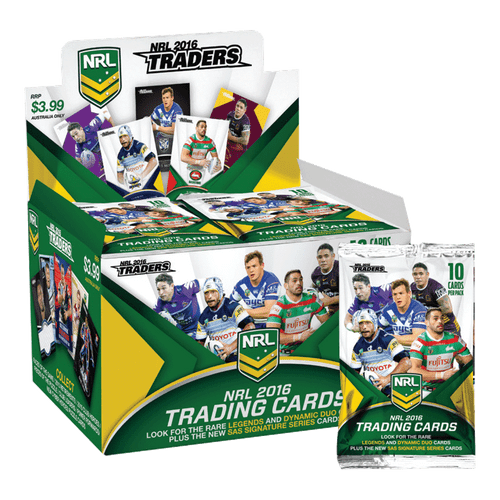 2016 NRL Traders Trading Card Pack
