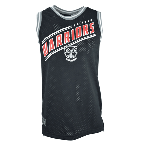 2017 Warriors Classic Basketball Singlet - Kids