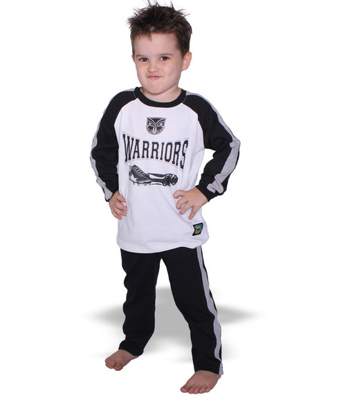 2017 Warriors Infant Pyjama Set