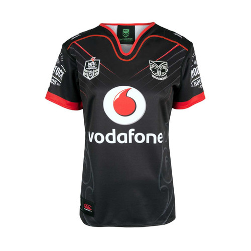 meet 9ac74 f99c0 2018 Vodafone Warriors CCC Home Jersey - Womens