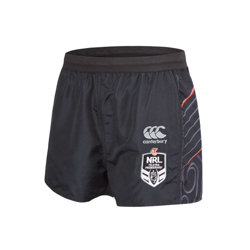 2018 Vodafone Warriors CCC Home Shorts - Adults