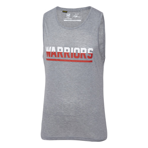 2018 Warriors Classic Printed Marle Singlet - Adults