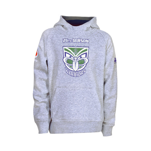 2019 Vodafone Warriors CCC 25th Season Raglan Hoodie - Kids