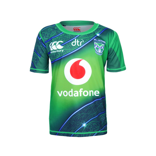 newest 10110 770fd 2019 Vodafone Warriors CCC Training Drill Top - Kids