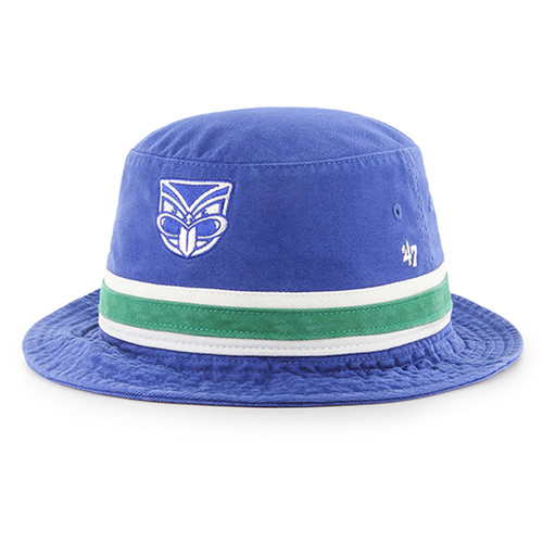 155fc6241b9 2019 Warriors 47 Brand Striped Bucket Hat