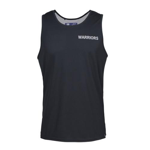2019 Warriors Classic Performance Singlet Black - Mens