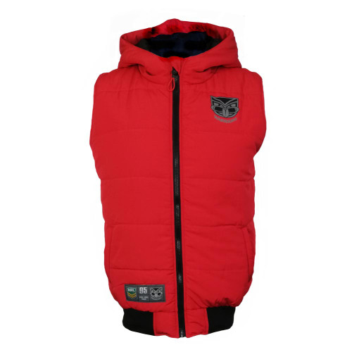 2019 Warriors NRL Poison Puffer Vest